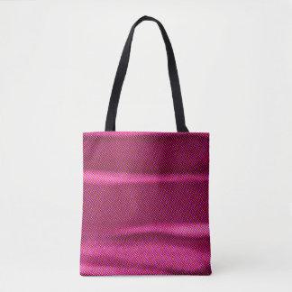 gerimpelde effect paarse tint draagtas