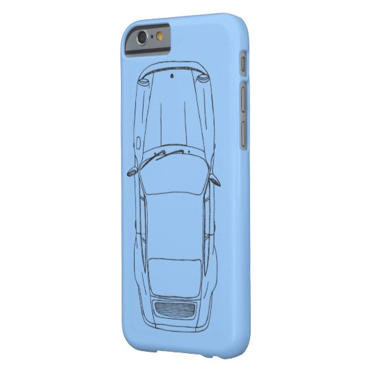 German air cooled glory barely there iPhone 6 hoesje