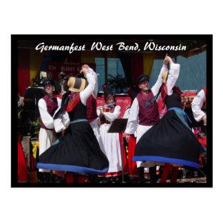 Germanfest Briefkaart