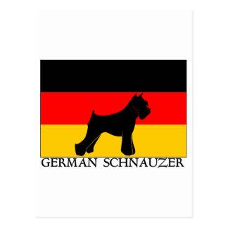 GermansSchnauzer Briefkaart