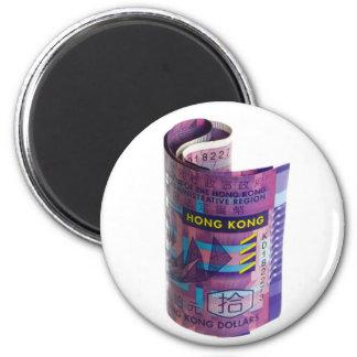 Gerolde de munt van Hong Kong Magneet