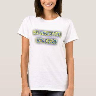 Gescheiden Dames T Shirt