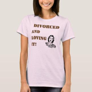 Gescheiden Houdend van het T Shirt