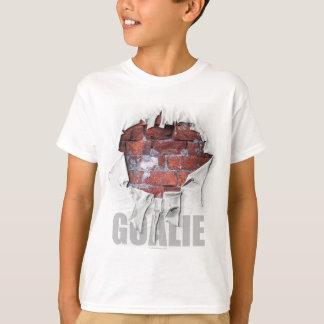 Gescheurde Bakstenen muur Goalie (Hockey) T Shirt