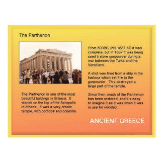 Geschiedenis, Oud Griekenland, Parthenon Briefkaart