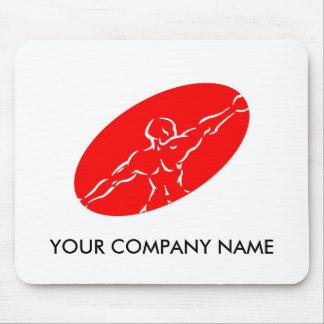 Geschiktheid Klantgerichte Mousepad - Rood Muismat