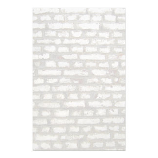 Geschilderde bakstenen muur aangepast briefpapier
