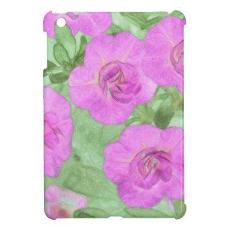 Geschilderde Petunia Hoesjes Voor iPad Mini
