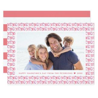 Geschilderde XOXO | Kaart van de Foto van de 12,7x17,8 Uitnodiging Kaart