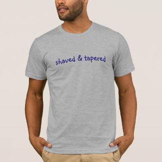 geschoren en verminderd t shirt