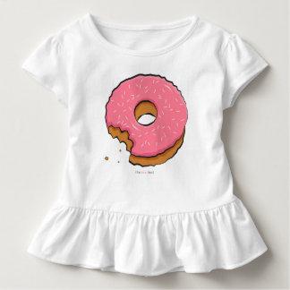 Gesmakte roze doughnut kinder kleren kinder shirts
