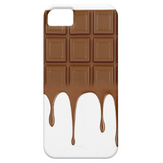 Gesmolten chocoladereep barely there iPhone 5 hoesje