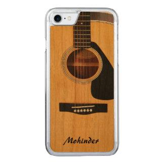 Gesneden Houten Blonde Akoestische iPhone 6 van de Carved iPhone 7 Hoesje