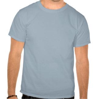 Gespierde borst Engelse vlag Shirts