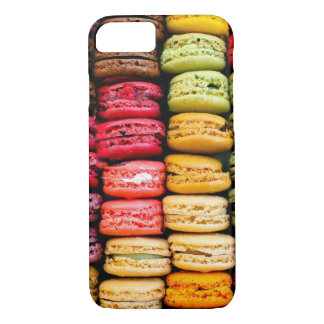 Gestapeld macarons iPhone 8/7 hoesje
