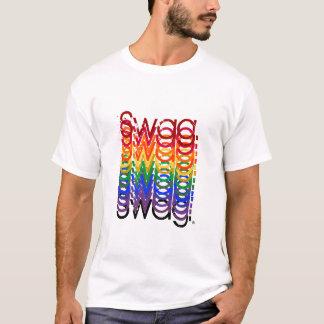 Gestapelde Swag T Shirt