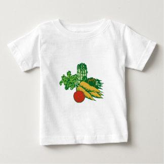 Gestileerd Plantaardig Assortiment Baby T Shirts