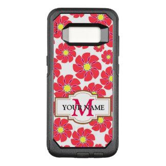 Gestileerde Bloemen OtterBox Commuter Samsung Galaxy S8 Hoesje