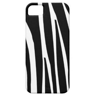 Gestreept zwart elegant de natuurpatroon van de barely there iPhone 5 hoesje