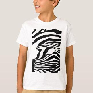 Gestreepte Druk T Shirt