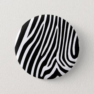 gestreepte huid, patronen ronde button 5,7 cm