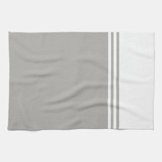 Gestreepte, Klantgerichte Neutrale Kleur Keuken Handdoek