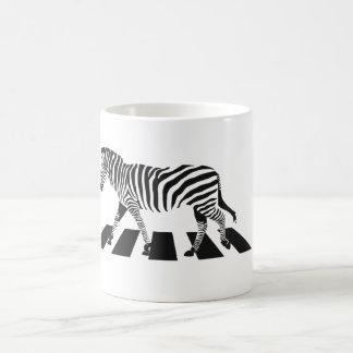 Gestreepte Kruising Koffiemok