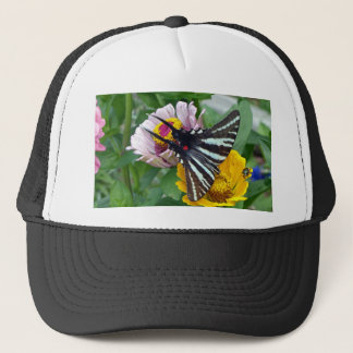 Gestreepte Swallowtail+Japanse Kever Trucker Pet