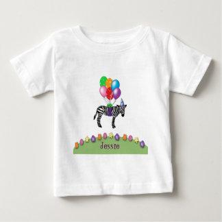 gestreepte verjaardag baby t shirts