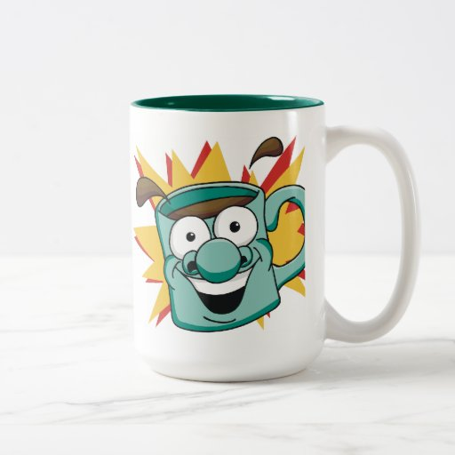 Getelegrafeerde Koffie 1 Tweekleurige Mok
