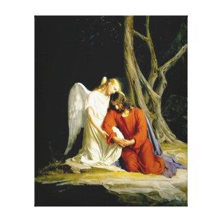 Gethsemane door Carl Heinrich Bloch 1805 Canvas Afdrukken