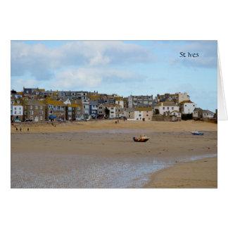 Getijden uit St Ives Cornwall Engeland Briefkaarten 0