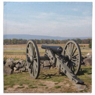 Gettysburg: Een uitzicht van de Last van Pickett Katoenen Servet