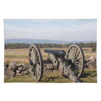 Gettysburg: Een uitzicht van de Last van Pickett Placemat