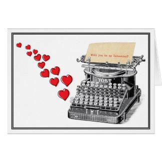 Getypt Valentijn Kaart