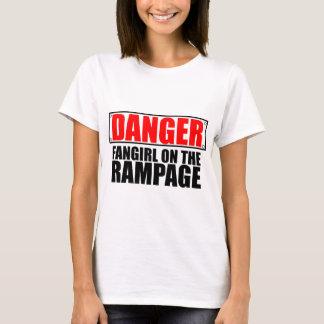 GEVAAR: Fangirl op de Uitzinnigheid T Shirt