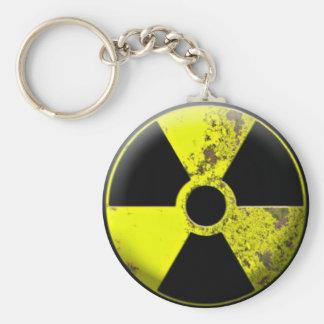Gevaarlijk Afval Keychain Sleutelhanger