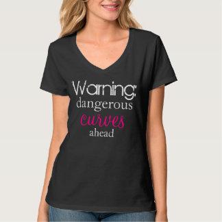 Gevaarlijke Krommen vooruit T Shirt