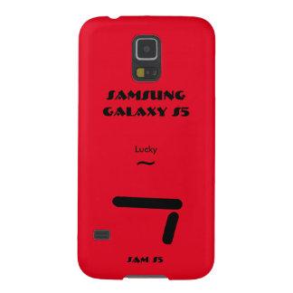 Geval 7 van de Melkweg van Samsung gelukkig S5 Galaxy S5 Hoesje