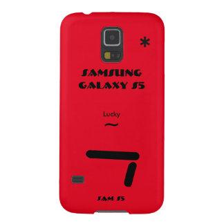 Geval 7 van de Melkweg van Samsung gelukkig S5 Galaxy S5 Covers