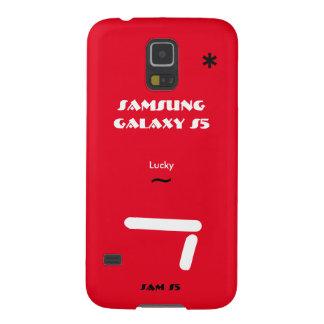Geval 7 van de Melkweg van Samsung gelukkig S5 Galaxy S5 Cover