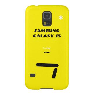 Geval 7 van de Melkweg van Samsung gelukkig S5 Galaxy S5 Beschermhoezen