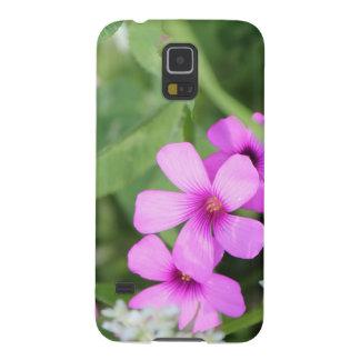 Geval van de de bloem het mobiele telefoon van de  galaxy s5 beschermhoezen