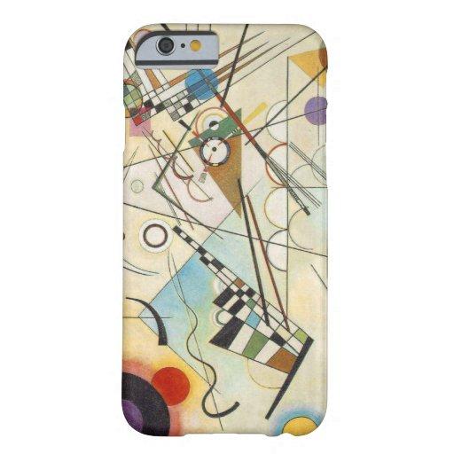 Geval van de Kunst van Kandinsky het Abstracte Barely There iPhone 6 Case