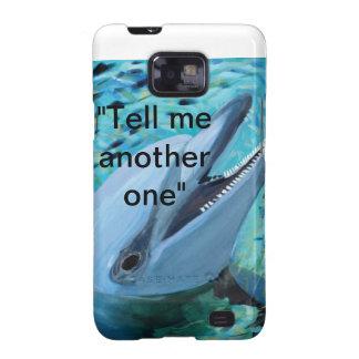 Geval van de Telefoon van de dolfijn het Mobiele Galaxy S2 Cover