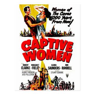 Gevangen Vrouwen Briefkaart