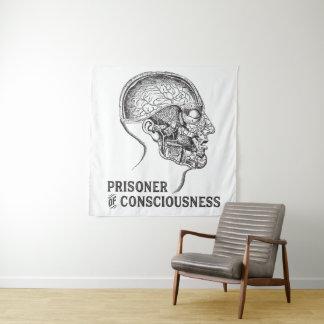 Gevangene van Bewustzijn Wandkleed