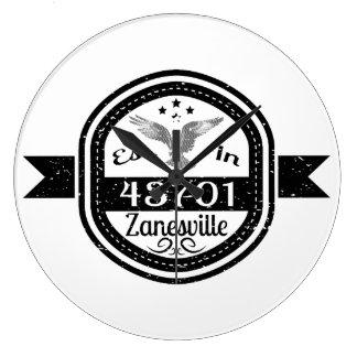 Gevestigd in 43701 Zanesville Grote Klok