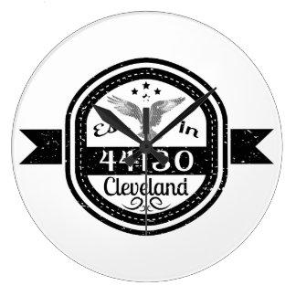 Gevestigd in 44130 Cleveland Grote Klok