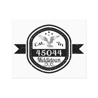 Gevestigd in 45044 Middletown Canvas Print